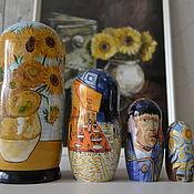 Русский стиль handmade. Livemaster - original item Dolls: Vincent Van Gogh Sunflowers. Handmade.