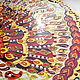 Round painting 'Golden Peacock' D 50 cm. Pictures. Art by Tanya Shest. My Livemaster. Фото №6