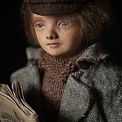 """Куклы и игрушки ручной работы. Ярмарка Мастеров - ручная работа Авторская кукла: Эйса (англ.Asa); серия """"воробЫшки"""". Handmade."""