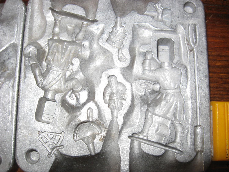 Отливки из олова своими руками