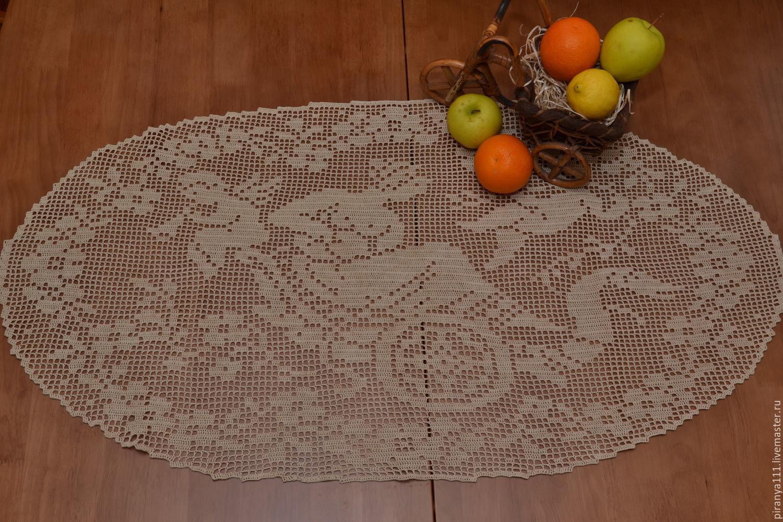 Tablecloth lace'the Magic chariot', Tablecloths, Nikolaev,  Фото №1