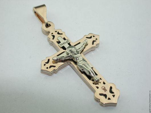 Украшения для мужчин, ручной работы. Ярмарка Мастеров - ручная работа. Купить Купить Православный крест 4. Handmade. Крест серебро
