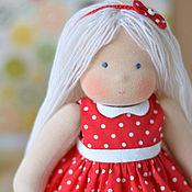 Куклы и игрушки ручной работы. Ярмарка Мастеров - ручная работа Вальдорфская кукла Мила, 30 см. Handmade.