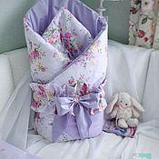 Конверты на выписку ручной работы. Ярмарка Мастеров - ручная работа Конверт - одеяло на выписку/в кроватку. Handmade.