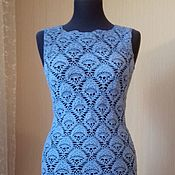 Одежда ручной работы. Ярмарка Мастеров - ручная работа Ажурное платье крючком. Handmade.
