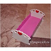 Куклы и игрушки handmade. Livemaster - original item Cot for dolls. doll bed. Handmade.