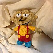 Куклы и игрушки ручной работы. Ярмарка Мастеров - ручная работа Гриффин и Браин Гриффин Стью. Handmade.
