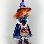 Куклы и игрушки ручной работы. Ярмарка Мастеров - ручная работа Рыженькая эльфочка. Handmade.