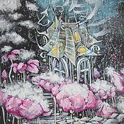 Картины и панно ручной работы. Ярмарка Мастеров - ручная работа Облачная плантация. Handmade.