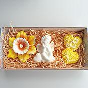 Косметика ручной работы. Ярмарка Мастеров - ручная работа Набор мыла с ангелом. Handmade.