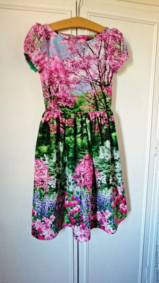 Платья ручной работы. Ярмарка Мастеров - ручная работа. Купить Платье Весна в Версале Хлопок 100%. Handmade. Платье для работы