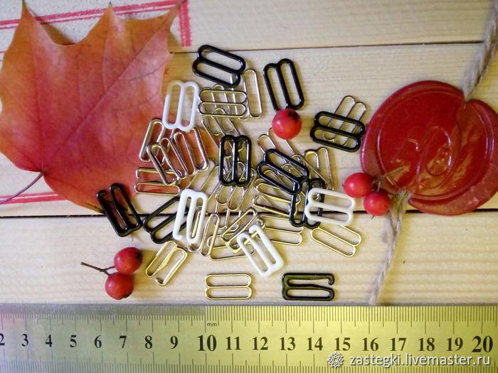 Фурнитура для бабочек 16 мм, комплект, Фурнитура для шитья, Санкт-Петербург,  Фото №1