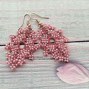 Украшения handmade. Livemaster - original item Earrings lace of frivolite. Handmade.