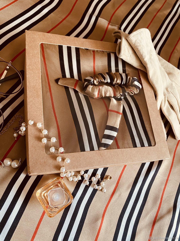 Шелковый платок ручной обработки, Платки, Тюмень,  Фото №1