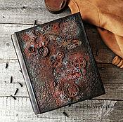 Подарки к праздникам handmade. Livemaster - original item male album. Hardcover from the Italian eco-leather. Handmade.