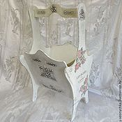Для дома и интерьера handmade. Livemaster - original item Journalize, lubochnia Pink dreams, decoupage. Handmade.