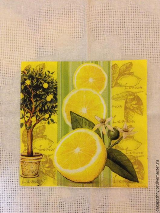 Лимоны и лимонное дерево - 105 Декупажная радость