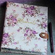 Канцелярские товары handmade. Livemaster - original item Diary of a glider Harmony. Handmade.