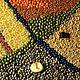 Абстракция ручной работы. Форма 435ти39авг18bi. Александр (Zernokzerno). Интернет-магазин Ярмарка Мастеров. Абстрактный, фигура, круг, овал, рис