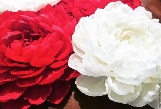Дизайн интерьеров ручной работы. Ярмарка Мастеров - ручная работа. Купить Огромные Бумажные цветы. Handmade. Комбинированный, оформление витрин