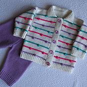Комплект детский Конфетти (кофта и штанишки), купить детский комплект
