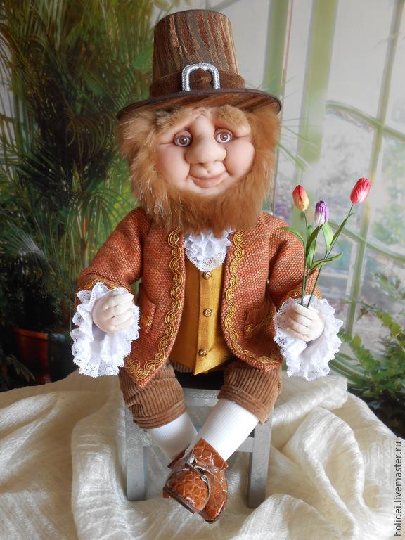 Dwarf Dutch (textile doll), Interior doll, Zelenograd,  Фото №1