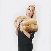 Аксессуары handmade. Livemaster - original item Fox fur stole. Handmade.