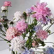 Цветы и флористика ручной работы. Ярмарка Мастеров - ручная работа Скабиоза. Handmade.