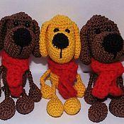 Куклы и игрушки handmade. Livemaster - original item Dog keychain. Symbol of the year 2018. The year of the DOG. Handmade.