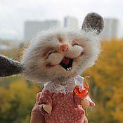 Куклы и игрушки ручной работы. Ярмарка Мастеров - ручная работа Петушок на палочке(повтор). Handmade.
