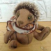 """Куклы и игрушки ручной работы. Ярмарка Мастеров - ручная работа Тедди ежик """" Поль"""". Handmade."""