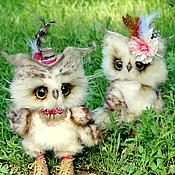 Куклы и игрушки ручной работы. Ярмарка Мастеров - ручная работа Совята Люджен и Люси. Handmade.