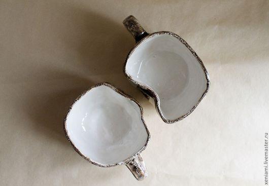 Двойные чашки, оригинальный подарок на день Святого Валентина (он же день влюбленных)