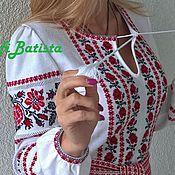 Одежда ручной работы. Ярмарка Мастеров - ручная работа Трикотажное платье в славянском стиле. Handmade.