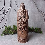 Для дома и интерьера handmade. Livemaster - original item Odin, the Scandinavian god, a statuette made of wood. Handmade.