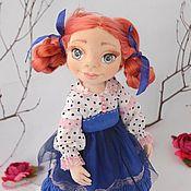 Куклы и игрушки handmade. Livemaster - original item Textile art dolls from fabric. interior doll. Handmade.