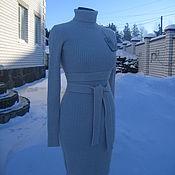 Одежда ручной работы. Ярмарка Мастеров - ручная работа Платье лапша с поясом. Handmade.
