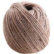 Материалы для творчества handmade. Livemaster - original item Jute twine, 50 m, 2 strands. Handmade.