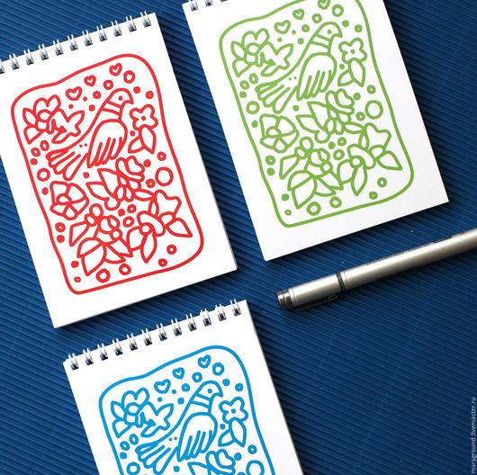 Блокноты ручной работы. Ярмарка Мастеров - ручная работа. Купить Блокнот. Handmade. Комбинированный, для зарисовок
