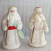 Винтаж ручной работы. Ярмарка Мастеров - ручная работа Дед Мороз ватный, г Калинин. Handmade.