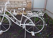 Для дома и интерьера ручной работы. Ярмарка Мастеров - ручная работа Велосипед-кашпо. Handmade.