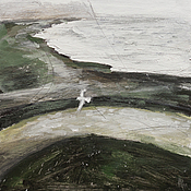 Картины и панно ручной работы. Ярмарка Мастеров - ручная работа На просторах полей. Handmade.
