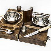 Сувениры и подарки handmade. Livemaster - original item A set of the NKVD for two persons. Handmade.