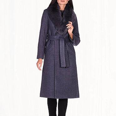 Одежда ручной работы. Ярмарка Мастеров - ручная работа Зимнее пальто теплое 40П. Handmade.