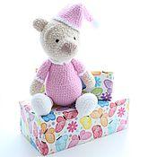 Мягкие игрушки ручной работы. Ярмарка Мастеров - ручная работа Плюшевый медведь в пижаме. Handmade.