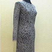 Одежда ручной работы. Ярмарка Мастеров - ручная работа Платье Серебро. Handmade.
