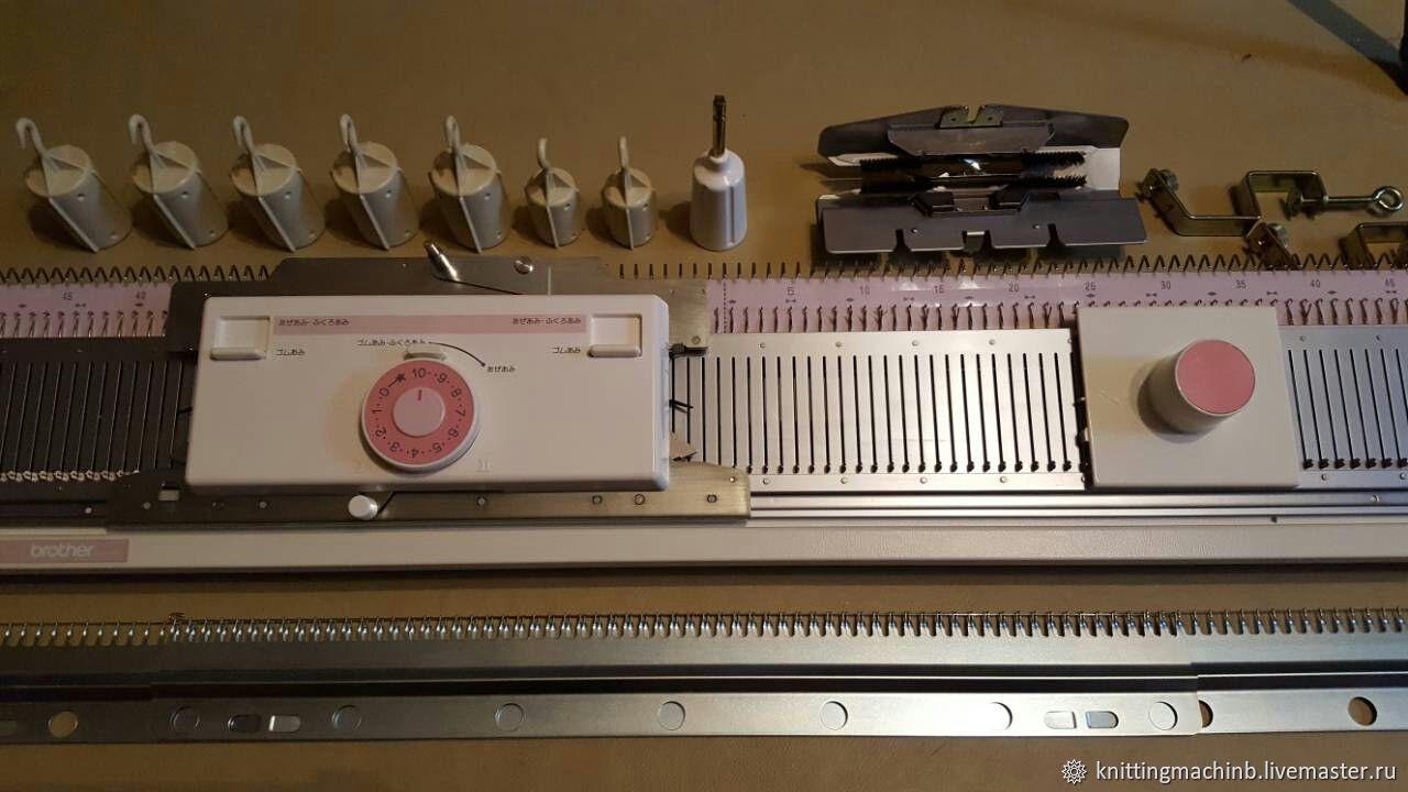 Вязальная машина. Нижняя фонтура Brother KR 260, Инструменты для вязания, Москва,  Фото №1
