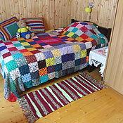 Для дома и интерьера handmade. Livemaster - original item Knitted rug,