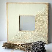 """Зеркала ручной работы. Ярмарка Мастеров - ручная работа """" Ещё немного и Прованс"""" Зеркало. Handmade."""