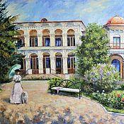Картины и панно handmade. Livemaster - original item Villa Otrada. Oil on canvas. Painting landscape architecture. Handmade.
